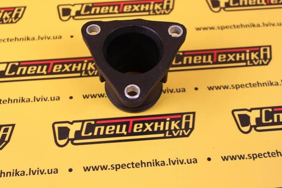 Корпус термостата JCB 3CX, 4CX DieselMax (320/04890, 32004890, 320-04890)