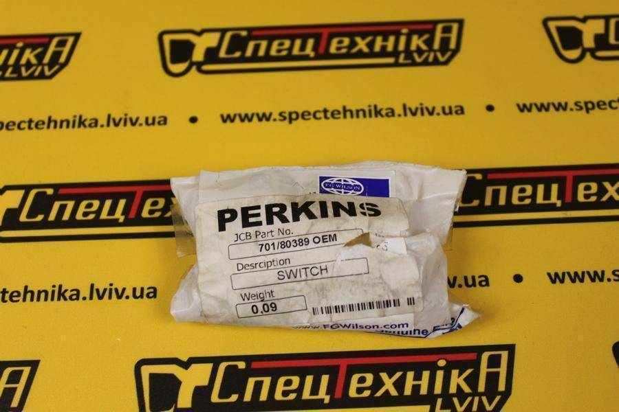 Датчик температуры блок PERKINS RE/RG 3CX/4CX (701/803890, 701-80389, 70180389)
