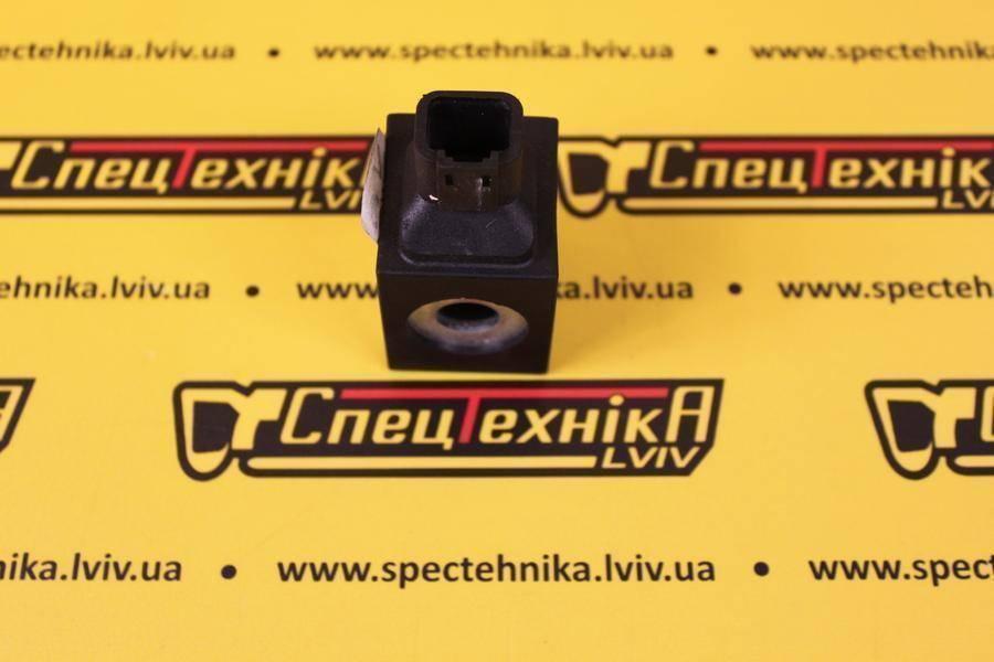 Катушка электромагнитного клапана 12V JCB 3CX, 4CX (717/20137, 717-20137, 71720137)