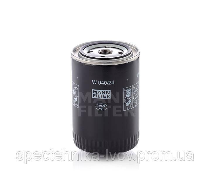 Фильтр масляный Mann-Filter W 940/24 (W940/24)