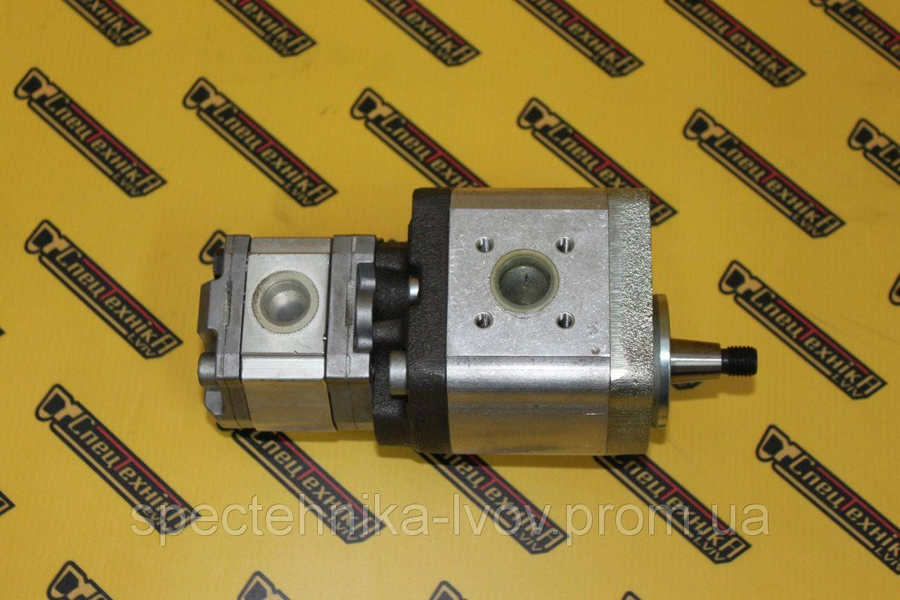 Двойной шестеренчатый гидронасос Bosch (Бош) / Rexroth (Рексрот) 7930 Оригинал MNR 1519222444  0510566304