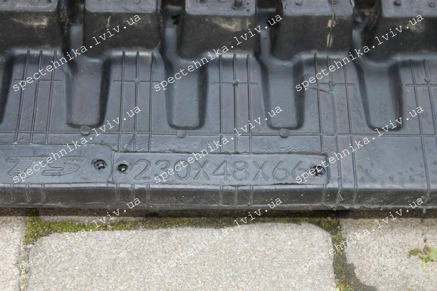 230x48x66 резиновая гусеница для мини экскаватора