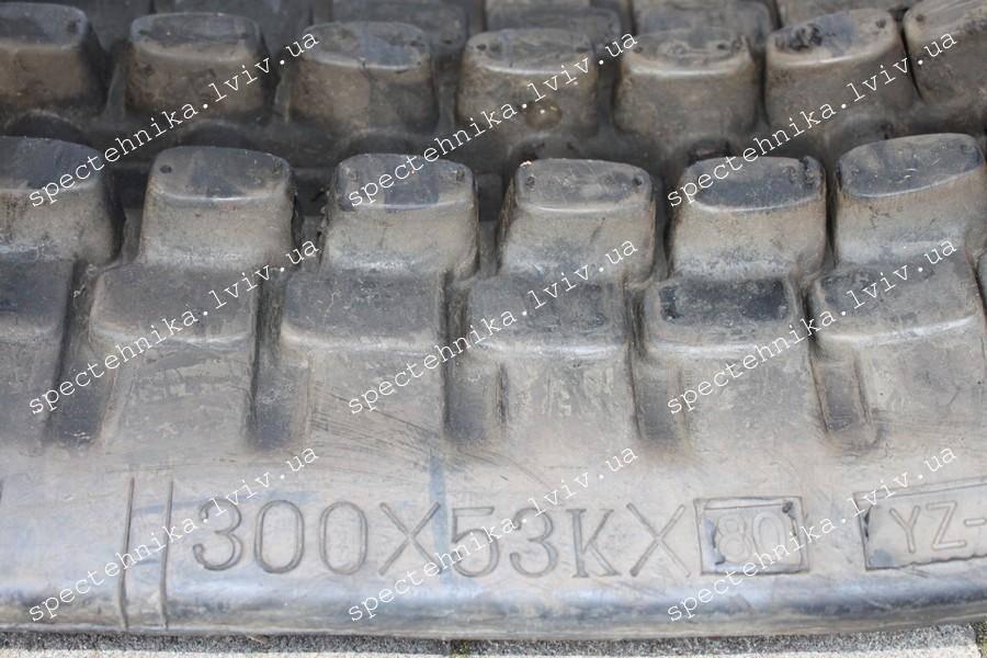 Резиновая гусеница 300x53x80 для мини экскаватора - Nexgen
