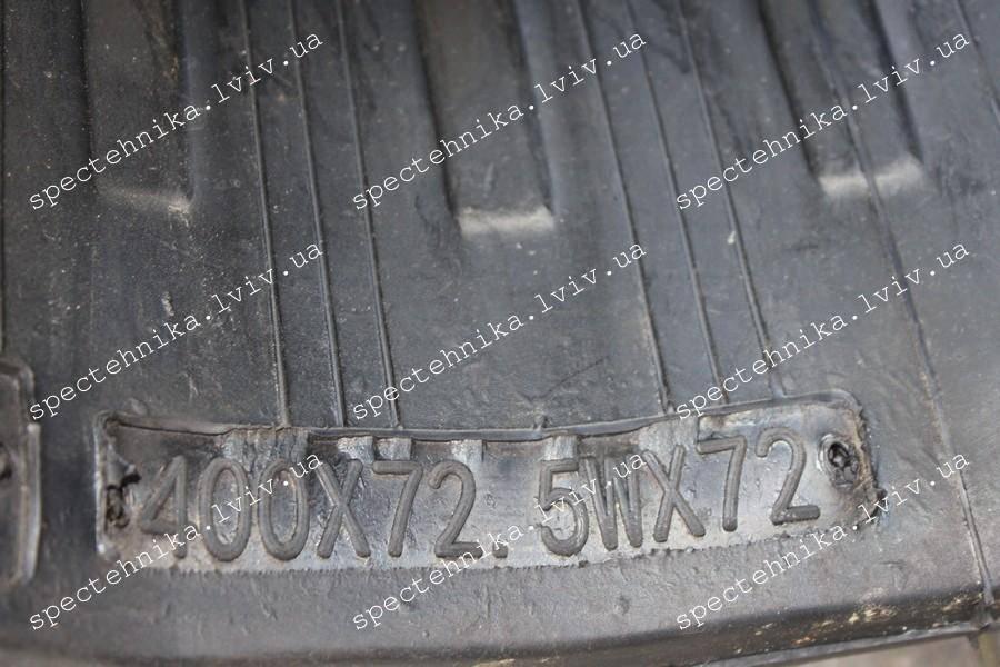 Резиновая гусеница 400x72.5x72W для мини экскаватора