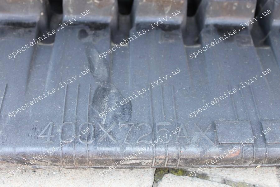 Резиновая гусеница 400x72.5x74N для мини экскаватора - Nexgen