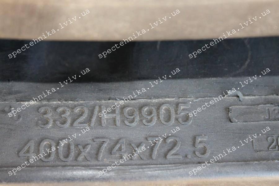 Резиновая гусеница 400x72.5x74N для мини экскаватора JCB (332/H9905) - ORG
