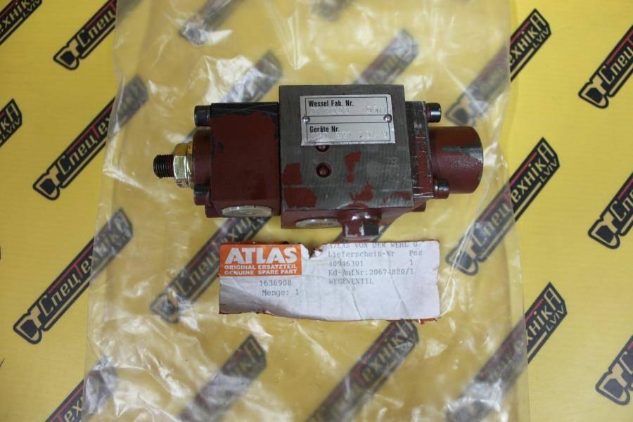1636908 Пневматический клапан хода Atlas