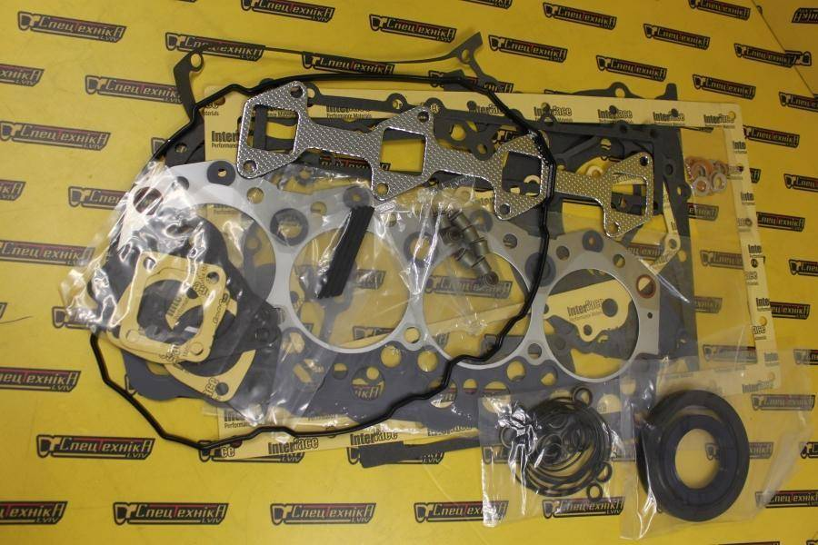 Комплект прокладок двигателя Caterpillar (CAT) 3044/C3.4, Mitsubishi S4S (4432491, 443-2491) - ORG