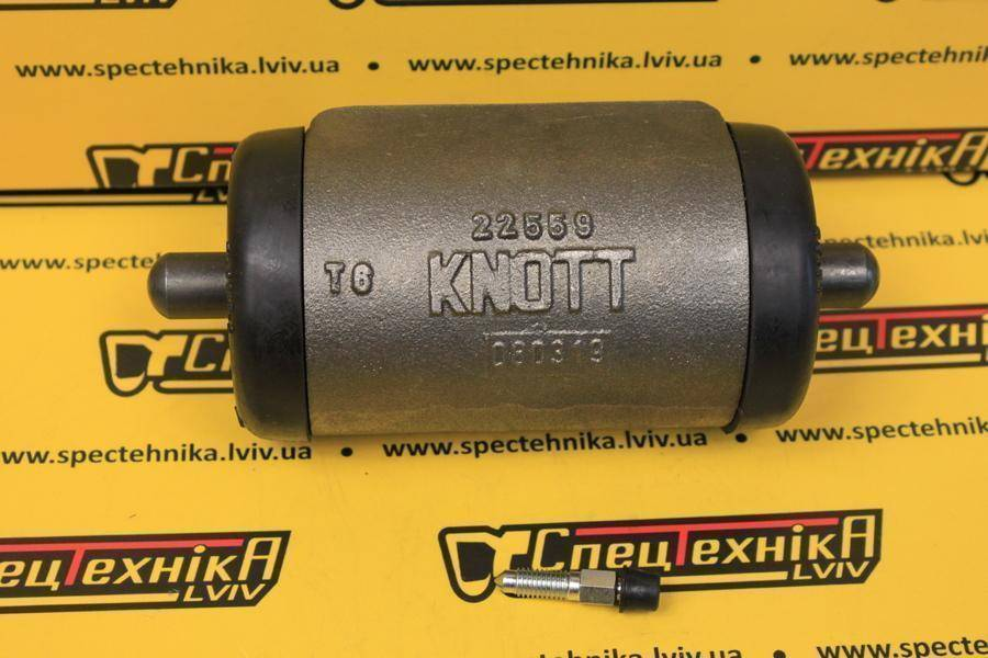 Тормозной цилиндр Caterpillar (1587461, 158-7461) - OEM KNOTT 22559