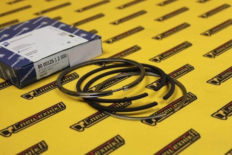 Поршневые кольца Deutz/Дойц 912 100 мм - STD (02233074) - Kolbenschmidt (800012512000)