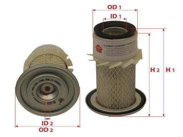 Фильтр воздушный SAKURA AS - 8801 (AS8801) (AS 8801) (AS - 8801)