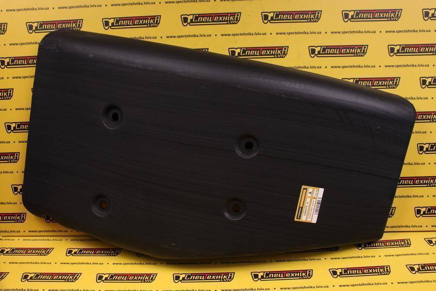 Крыло правое черное 420 мм JCB 3CX SUPER / 4CX (123/03172, 12303172, 123-03172)