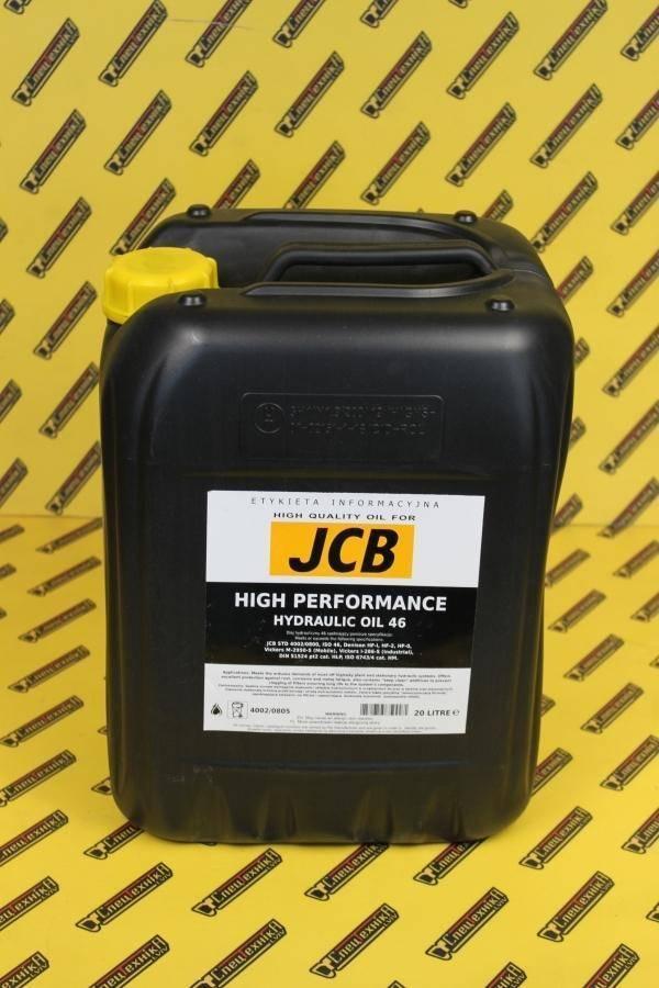 Масло гидравлическое JCB HP46 20л (4002/0805RR, 4002-0805RR, 40020805RR)