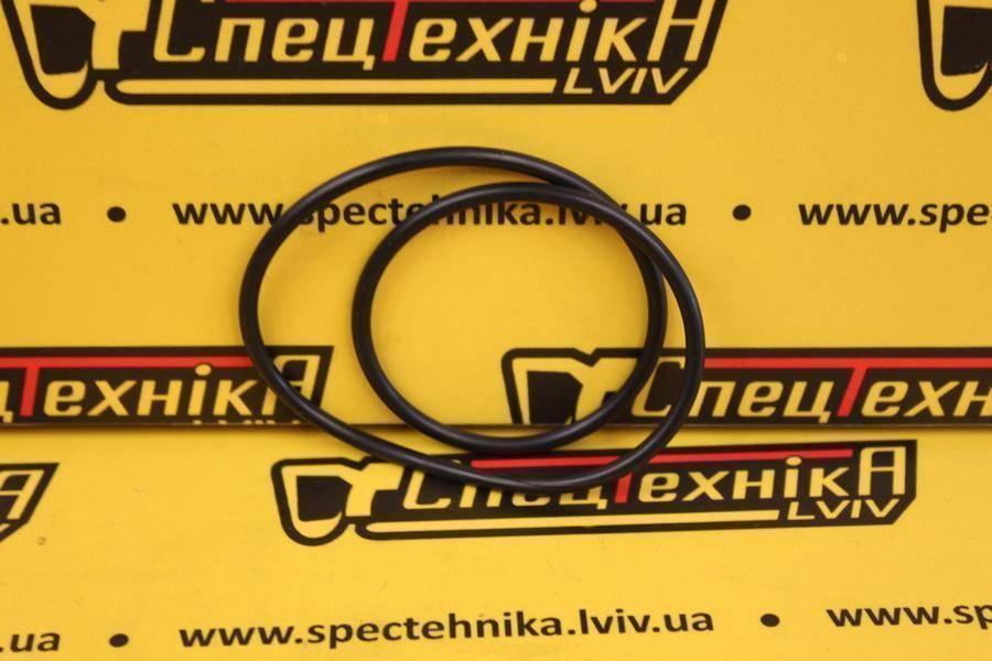 Уплотнительное резиновое кольцо поршня корзины КПП 123,5 мм JCB (828/00414, 828-00414, 82800414) - ORG