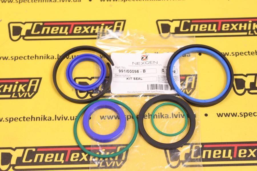 Набор уплотнений гидроцилиндра рулевого управления JCB (991/00098) - Nexgen