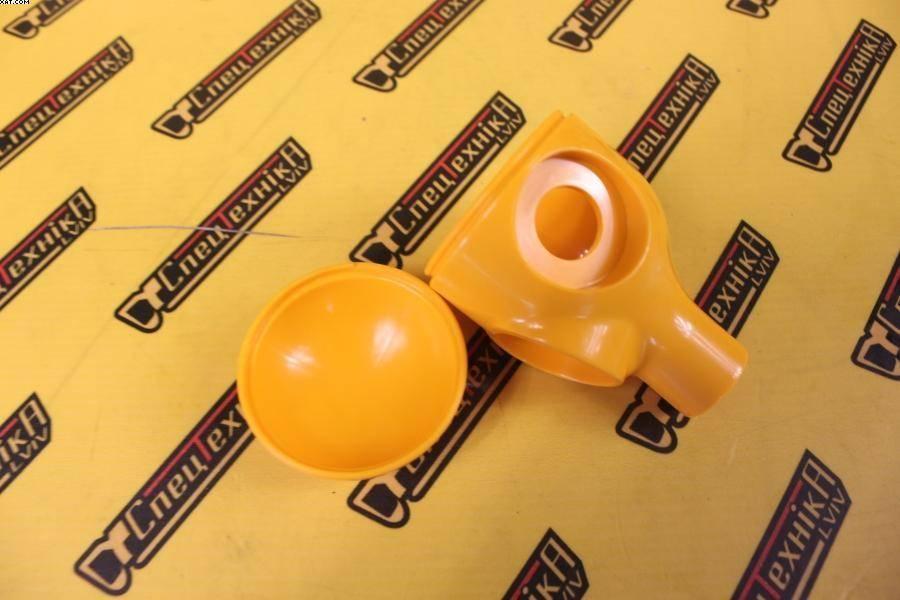 Ручка (головка) рычага управления перид желтая JCB 3CX, 4CX (993/65000, 993-65000, 99365000)
