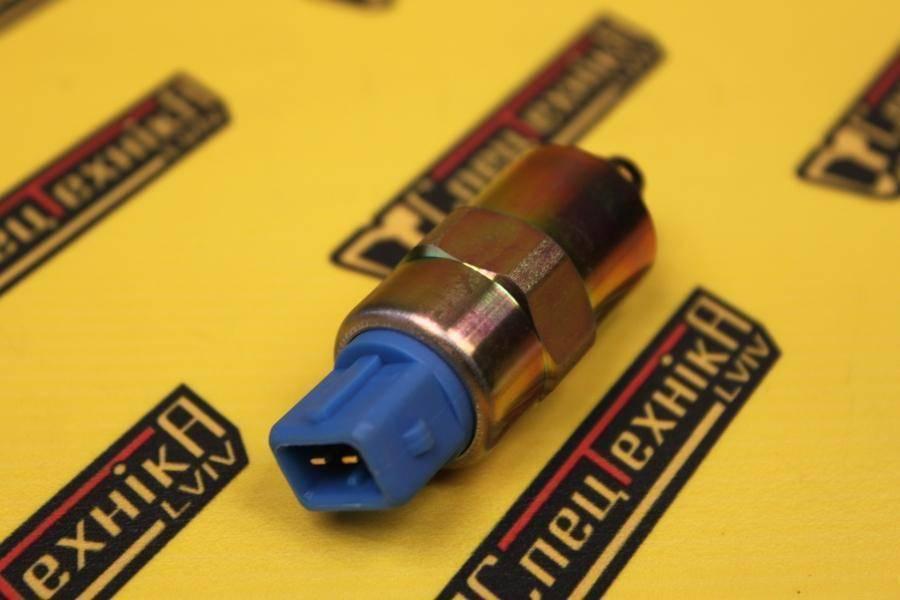 Электроманитный клапан отсечки топлива ТНВД (глушилка) - 12V ESOS2 JCB 2CX 3CX 4CX (716/30255, 716-30255, 71630255)