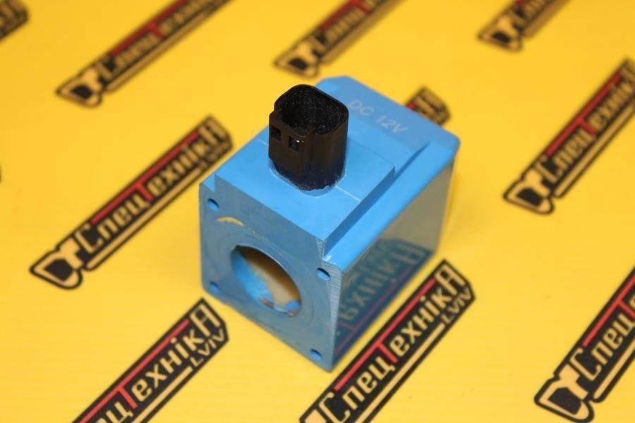 Катушка электромагнитного клапана хода 12V JCB 3CX, 4CX (25/221054, 25-221054, 25221054)