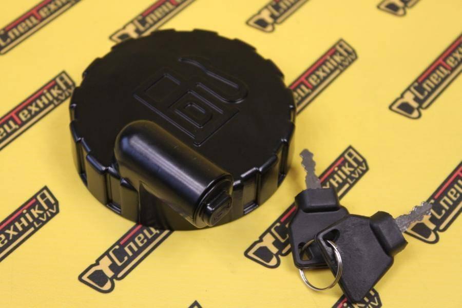 123/05892 Крышка топливного бака JCB (2 ключа)