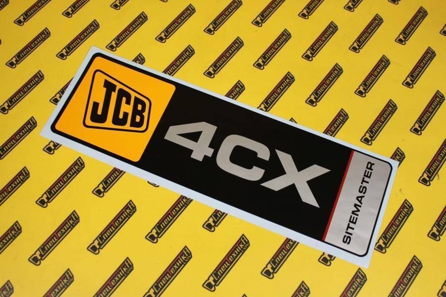 Наклейка JCB 4CX Sitemaster (817/17920, 817-17920, 81717920)