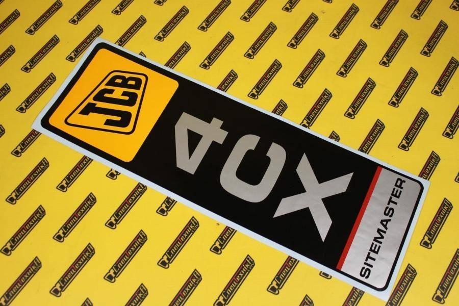 Наклейка JCB 4CX Sitemaster (817/17896, 817-17896, 81717896)