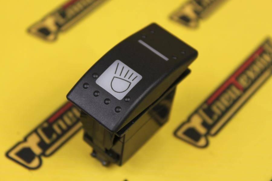 Переключатель рабочего освещения двухпозиционный JCB 3CX, 4CX (701/60004, 701-60004, 70160004)
