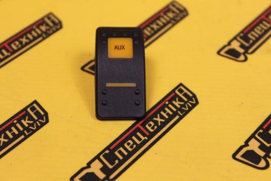 Накладка/колпачок переключателя AUX JCB (701/58713, 701-58713)