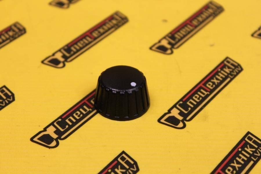 Ручка переключателя скорости вентилятора печки JCB (331/36910, 331-36910)