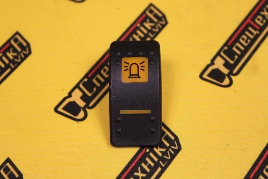 Крышка кнопка клавиша переключателя предупреждающей лампы (мигалки) JCB (701/58704, 701-58704)