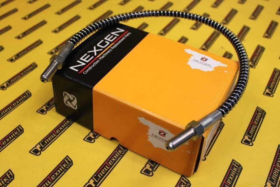Тормозной шланг 620 мм JCB (649/21300, 649-21300, 64921300) - Nexgen