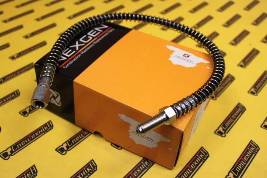 Тормозной шланг 580 мм JCB 3CX, 4CX (649/51240, 649-51240, 64951240) - Nexgen