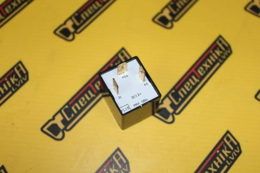 Реле сигнала поворота JCB 3CX, 4CX 12V 6*21W 3 контакта (716/25800, 716-25800, 71625800)