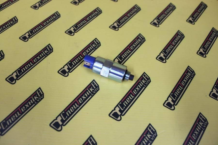 Электромагнитный клапан отсекания топлива ТНВД (глушилка) - 12V JCB (17/05201Z, 17-05201Z, 1705201Z)