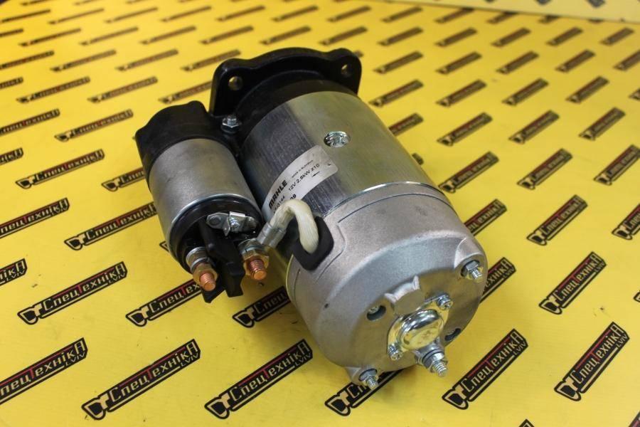 Стартер Perkins 12V 2,8 кВт 10 зубів (714/40159, 714-40159, 71440159) - ISKRA/MAHLE