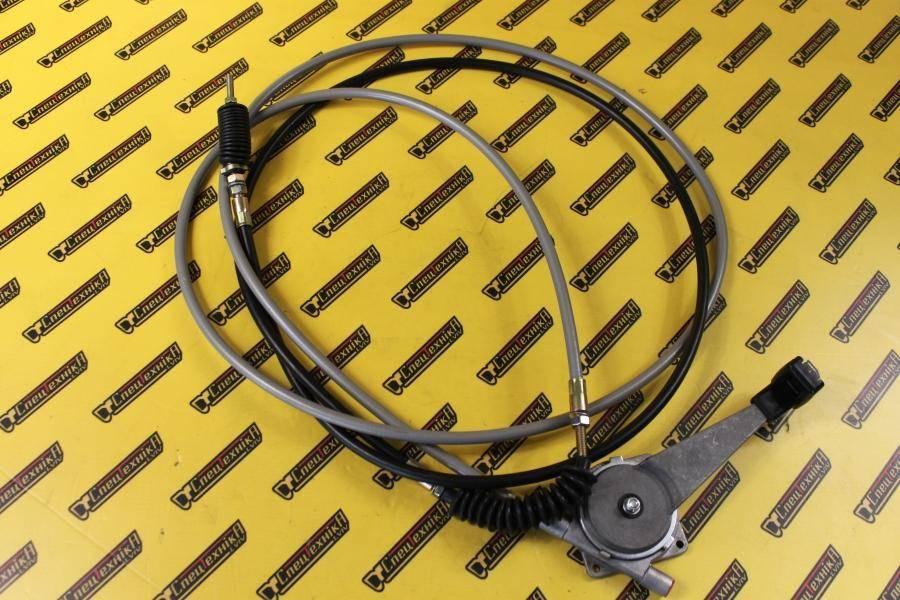 Трос газа с ручкой Perkins AA, AK JCB 3CX, 4CX (910/48800, 910-48800, 910/48800)
