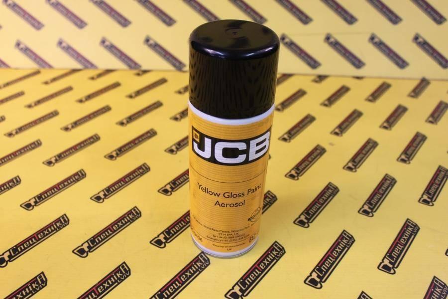 Краска JCB желтая 400мл аэрозоль (4220/0406, 4220-0406, 42200406)
