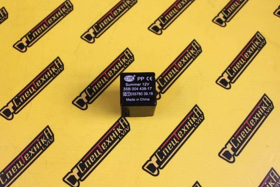 Реле звуковое сигнал заднего хода JCB 12V 3pin (704/10000, 704-10000, 70410000) - Nexgen