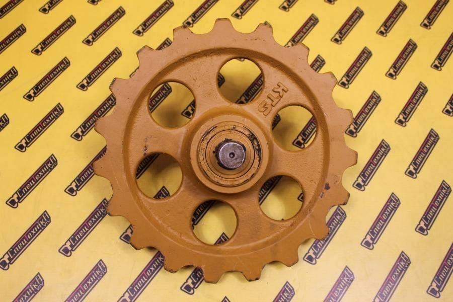 Натяжное колесо (ленивец) JCB мини 801/8016/8018 (231/61701, 231-61701, 23161701)