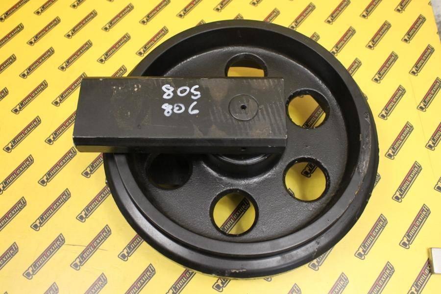 Колесо натяжное (ленивец) с вилкой мини JCB 805, 806 (331/20054, 331-20054, 33120054)