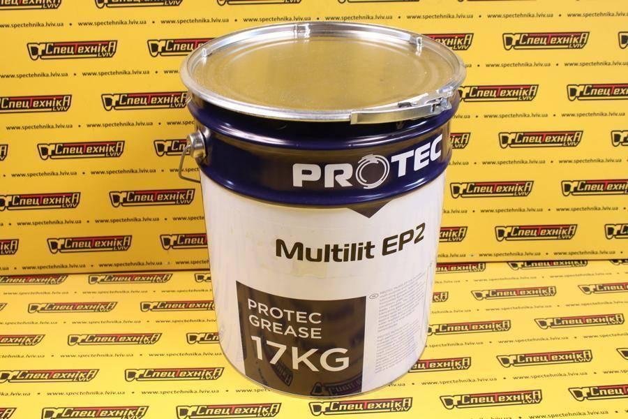 Смазка ПРОТЕК Multilit EP2 17 кг.
