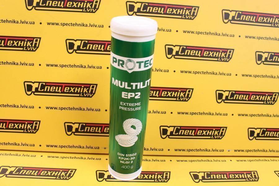 Смазка ПРОТЕК Multilit EP2 0,4 кг. (туба)