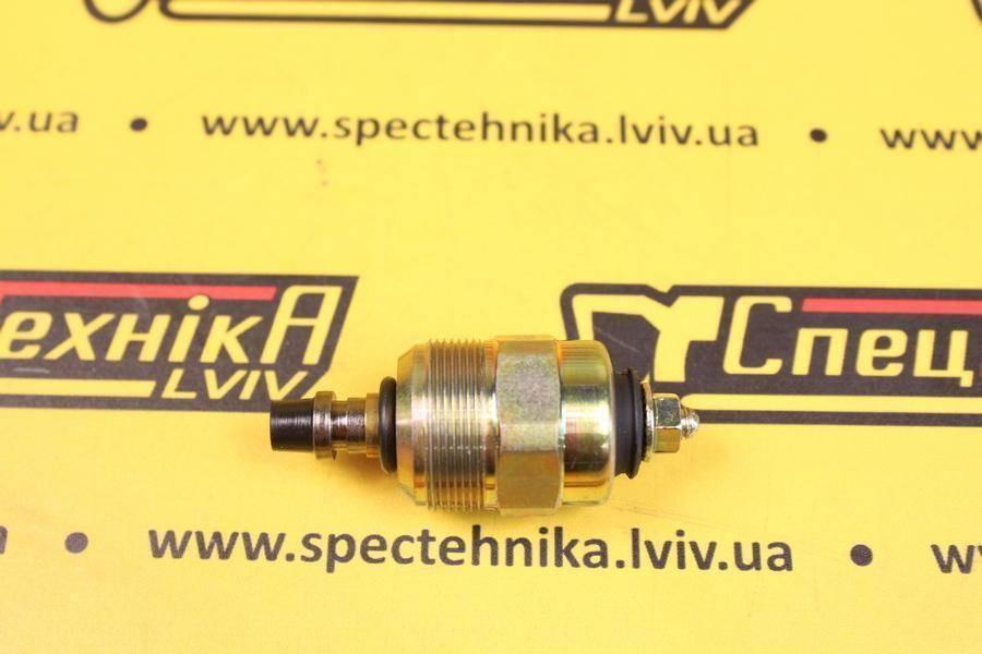 Электромагнитный клапан отсечки топлива ТНВД (глушилка) 24V Perkins (26439029)