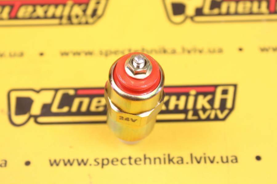 Электромагнитный клапан отсечки топлива ТНВД (глушилка) 24V Lucas (718049A)