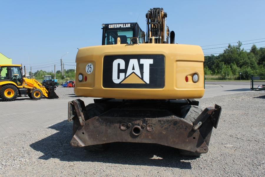 Фото №6 - Колесный экскаватор Caterpillar (CAT) M315D 2009 р.