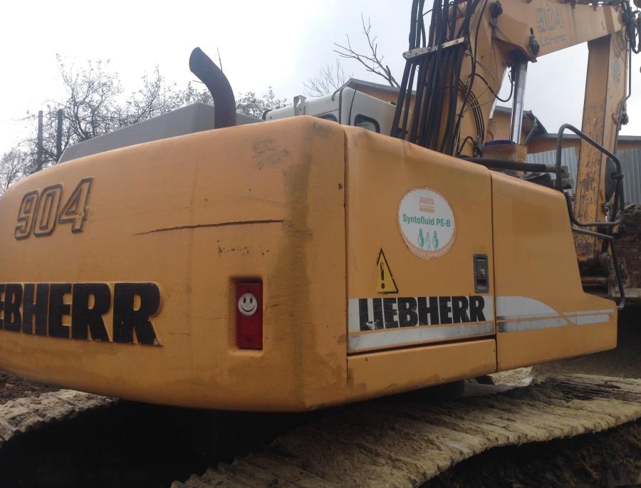 Фото №4 - Гусеничный экскаватор Liebherr R 904С HDS Litronic 2007 г.