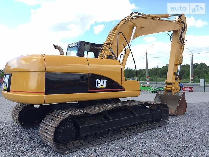 Фото №30 - Гусеничный экскаватор Caterpillar (CAT) 320 2001 г.