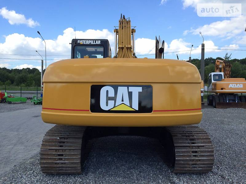 Фото №16 - Гусеничный экскаватор Caterpillar (CAT) 320 2001 г.