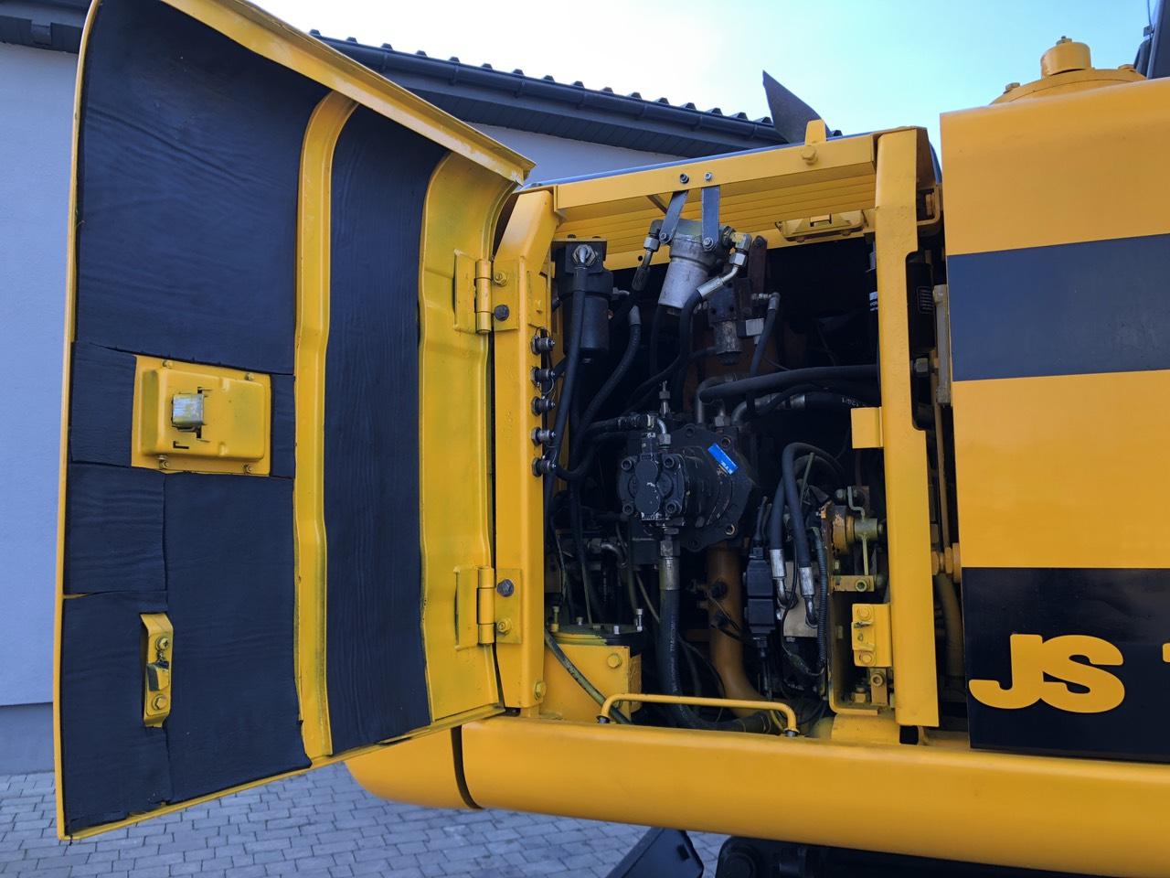 Фото №9 - Колесный экскаватор JCB JS 160W (JS160W) 2004 г.
