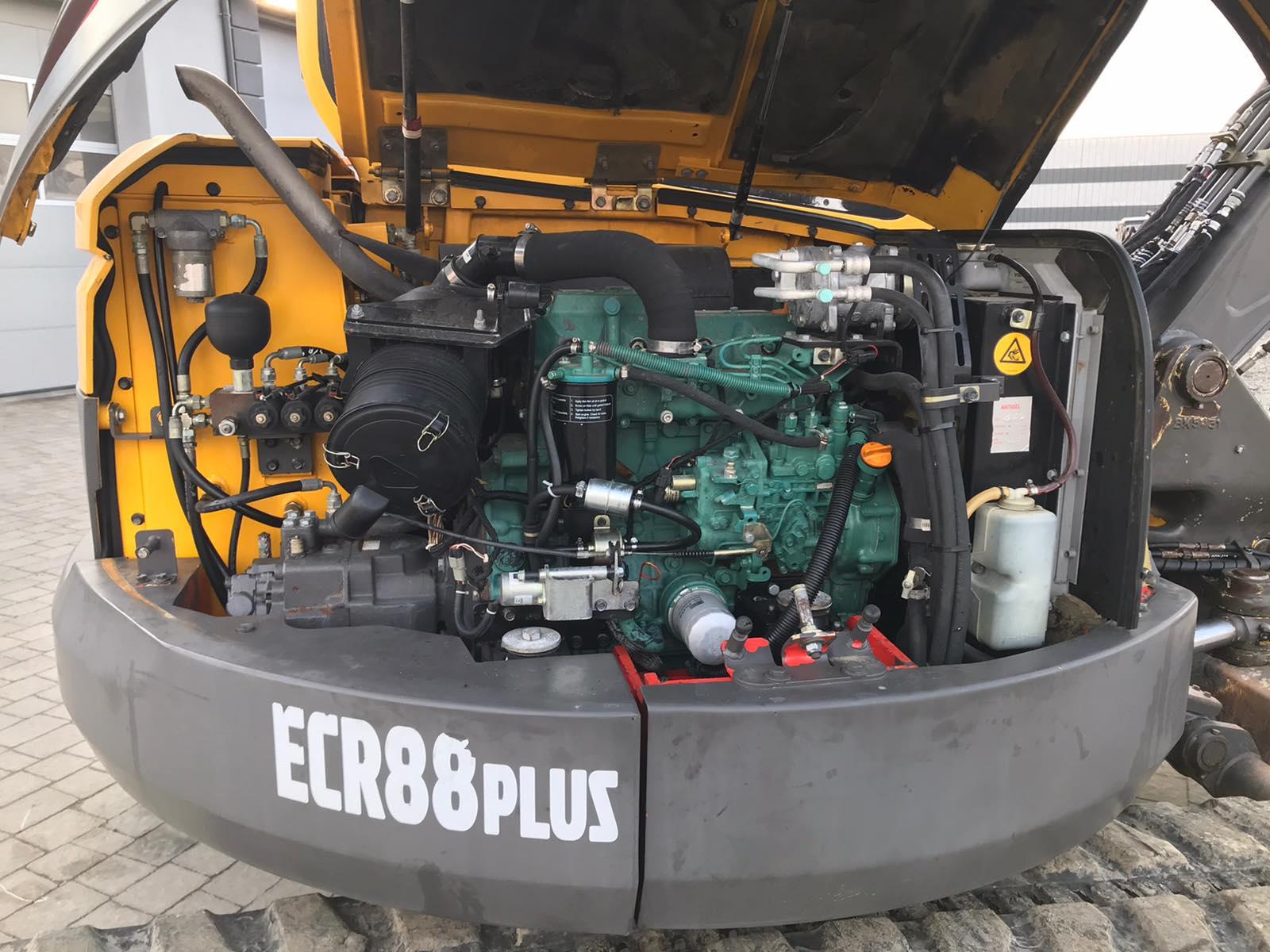 Фото №11 - Мини экскаватор Volvo ECR88 Plus 2000 г.
