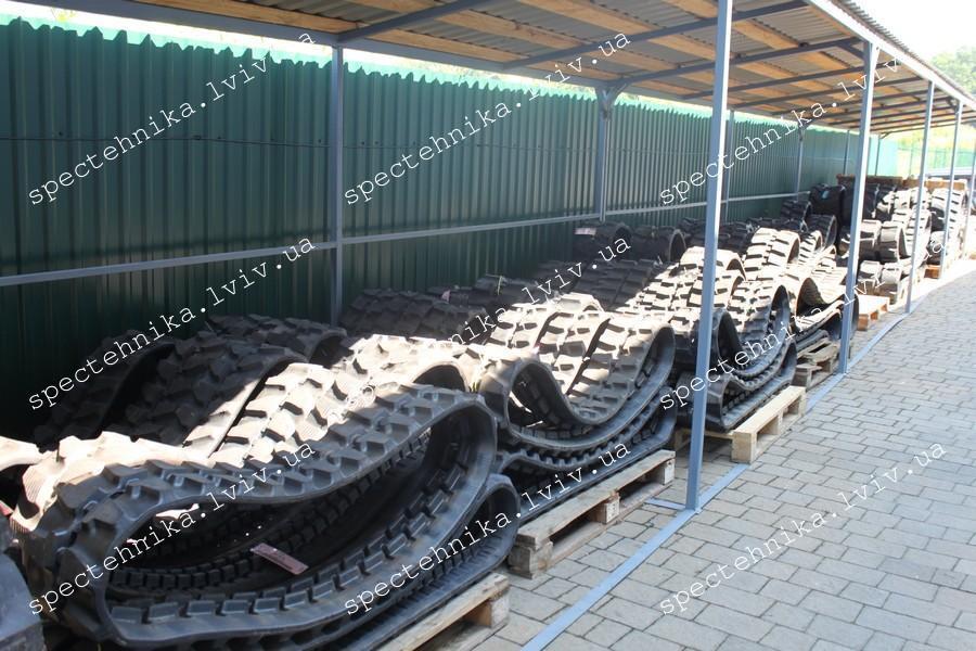 Фото №1 - Резиновая гусеница 400x72.5x76W для мини экскаватора
